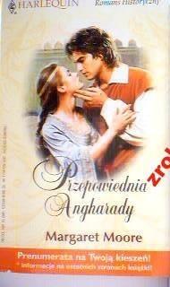 Okładka książki Przepowiednia Angharady
