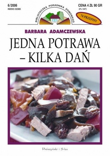 Okładka książki Jedna potrawa - kilka dań