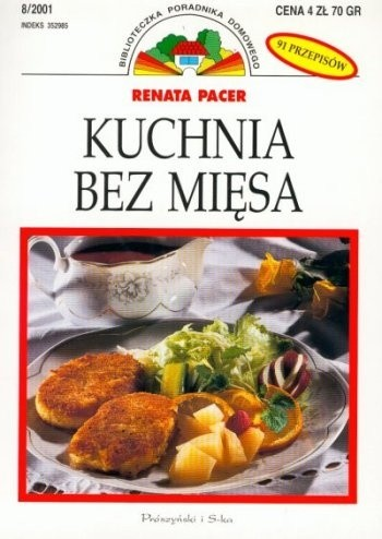 Okładka książki Kuchnia bez mięsa