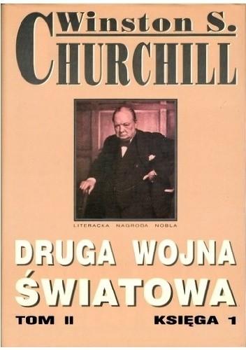Okładka książki Druga Wojna Światowa. Tom II. Księga 1