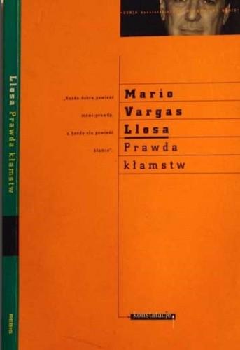 Okładka książki Prawda kłamstw. Eseje o literaturze