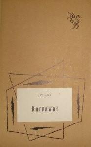 Okładka książki Karnawał