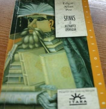 Okładka książki Sfinks: 13 nieznanych opowiadań