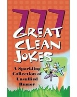 Okładka książki 777 Great Clean Jokes. A Sparkling Collection of Unusual Humor