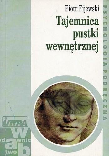 Okładka książki Tajemnica pustki wewnętrznej