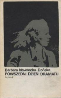 Okładka książki Powszedni dzień dramatu