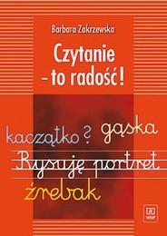 Okładka książki Czytanie - to radość!