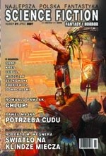 Okładka książki Science Fiction, Fantasy & Horror 21 (7/2007)