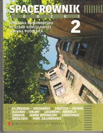 Okładka książki Spacerownik łódzki 2