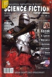 Okładka książki Science Fiction, Fantasy & Horror 45 (7/2009)