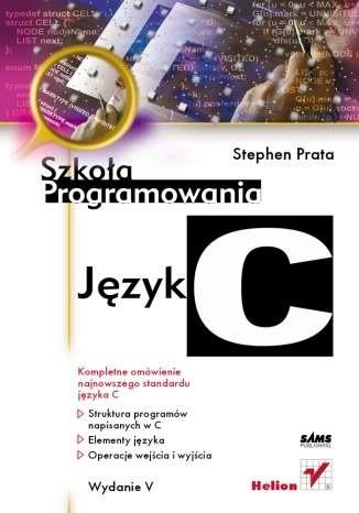 Okładka książki Język C. Szkoła programowania