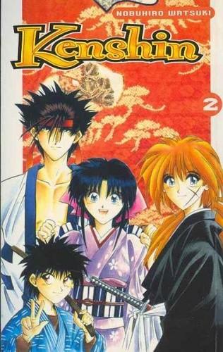 Okładka książki Kenshin, t. 2