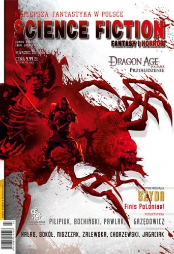 Okładka książki Science Fiction, Fantasy & Horror 53 (3/2010)