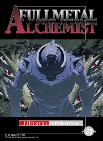 Okładka książki Fullmetal Alchemist t. 21