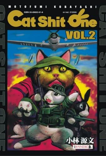 Okładka książki Cat Shit One vol.2