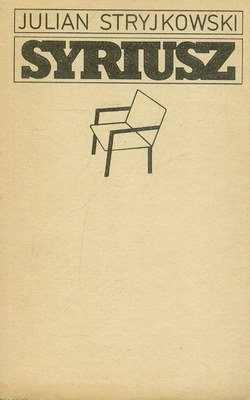 Okładka książki Syriusz