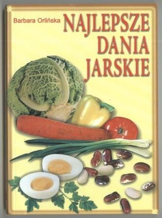 Okładka książki Najlepsze dania jarskie