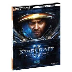 Okładka książki Starcraft II Limited Edition Strategy Guide