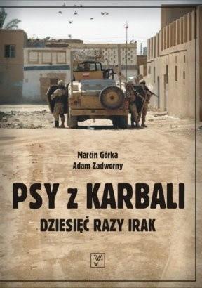 Okładka książki Psy z Karbali