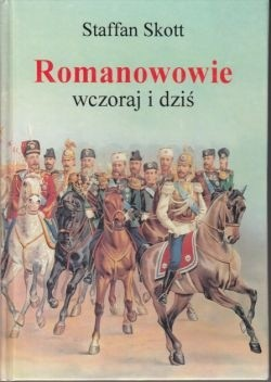 Okładka książki Romanowowie wczoraj i dziś