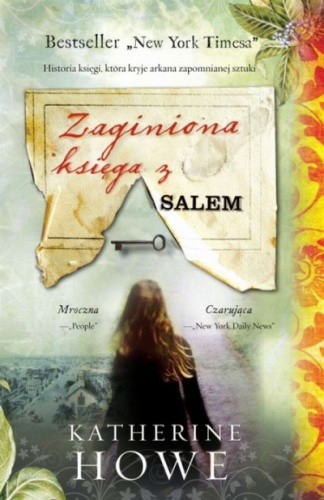 Okładka książki Zaginiona księga z Salem