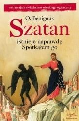 Okładka książki Szatan istnieje naprawdę : spotkałem go