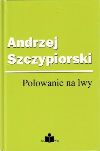 Okładka książki Polowanie na lwy