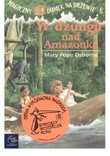 Okładka książki W dżungli nad Amazonką