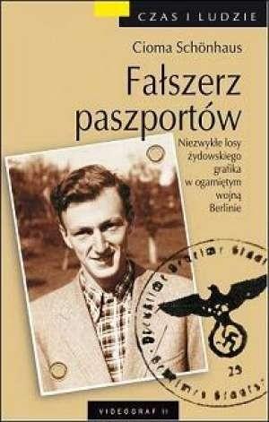 Okładka książki Fałszerz paszportów