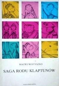 Okładka książki Saga rodu Klaptunów