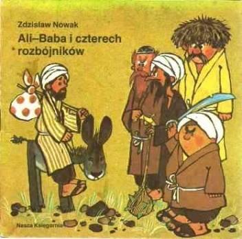Okładka książki Ali-Baba i czterech rozbójników