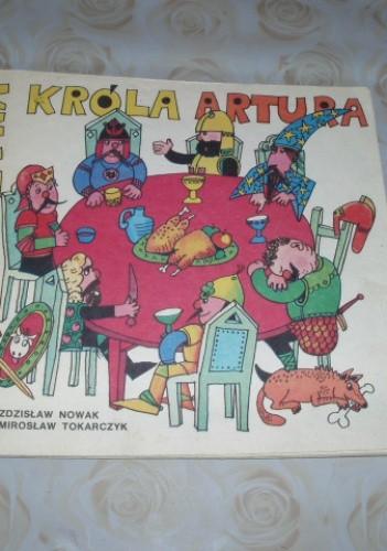 Okładka książki Drużyna króla Artura