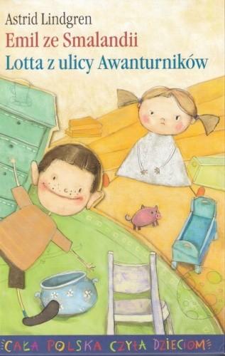 Okładka książki Emil ze Smalandii. Lotta z ulicy Awanturników