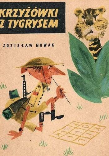 Okładka książki Krzyżówki z tygrysem