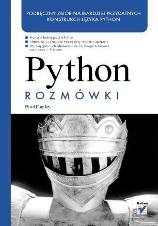 Okładka książki Python. Rozmówki