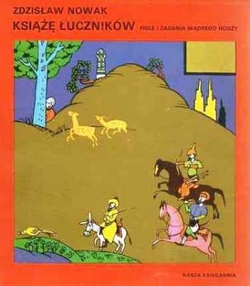 Okładka książki Książę łuczników : figle i zadania mądrego Hodży