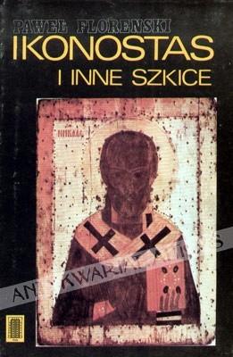 Okładka książki Ikonostas i inne szkice