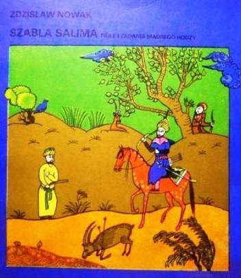 Okładka książki Szabla Salima : figle i zadania mądrego Hodży