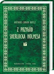Okładka książki Z przygód Sherlocka Holmesa
