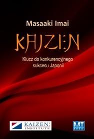 Okładka książki Kaizen: klucz do konkurencyjnego sukcesu Japonii