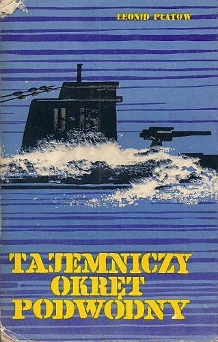 Okładka książki Tajemniczy okręt podwodny