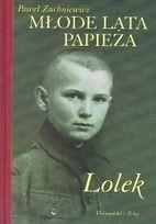 Okładka książki Młode Lata Papieża. Lolek