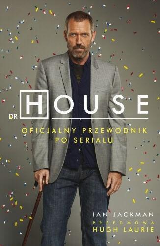 Okładka książki Dr House. Oficjalny przewodnik po serialu