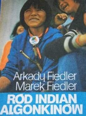 Okładka książki Ród Indian Algonkinów