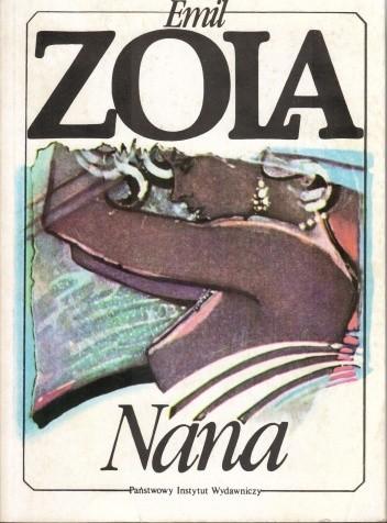 Okładka książki Nana