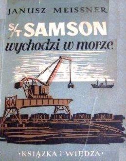 Okładka książki S/T Samson wychodzi w morze