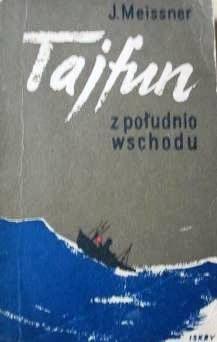 Okładka książki Tajfun z południo-wschodu