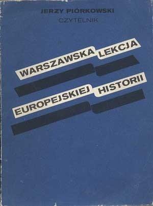 Okładka książki Warszawska lekcja europejskiej historii