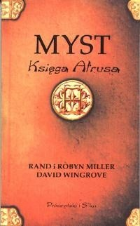 Okładka książki Myst. Księga Atrusa
