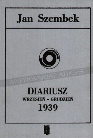 Okładka książki Diariusz wrzesień-grudzień 1939